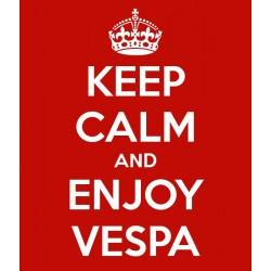 Sticker, Calco, Vespa Keep Calm